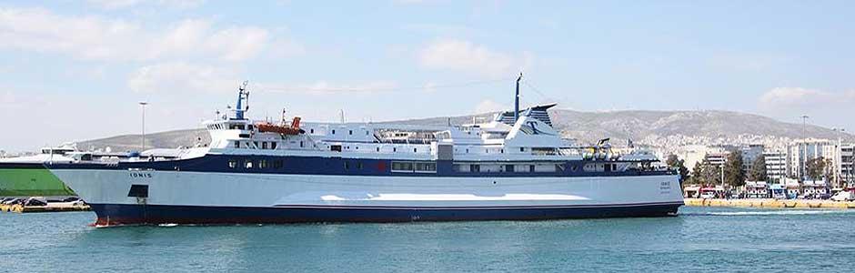 ionis-ferry kythera